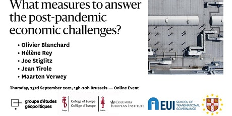 What measures to answer the post-pandemic economic challenges? tickets