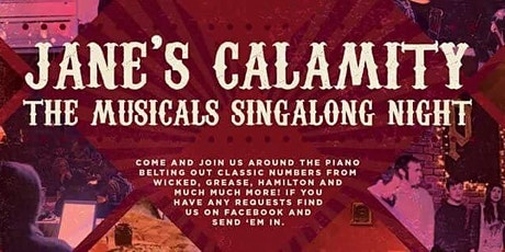 Jane's Calamity- A Porter's Musicals Singalong tickets