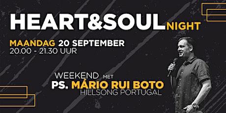 Heart & Soul Night - 20 september tickets