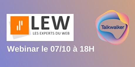 Webconférences #RDVLEW n°15 spécial femmes d'influence sur Twitter billets
