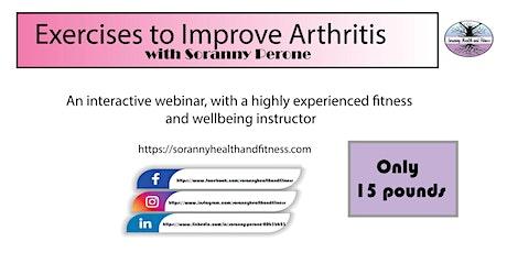 Exercises to Improve Arthritis tickets