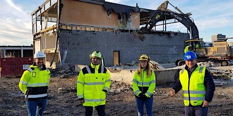 Markering av byggestart for Construction City tickets