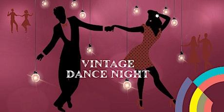 Vintage Dance Night tickets