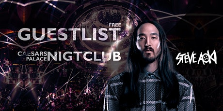HALLOWEEN WEEKEND: Party at Caesars Palace - STEVE AOKI [FREE GUESTLIST] tickets
