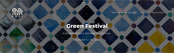 GREEN 2021 - BIOMIMICRY WEEKEND image