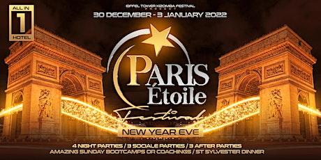 Paris Etoile Festival / New Year Eve / Kizomba/ Semba / Urbankiz billets