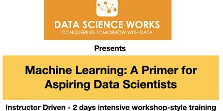 Machine Learning (Zoom Training) tickets