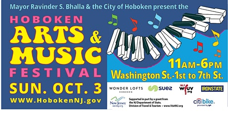 Hoboken Arts and Music Festival tickets