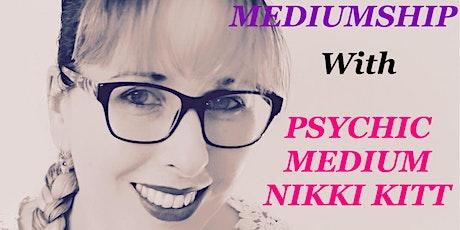 Evening of Mediumship with Nikki Kitt - Falmouth tickets