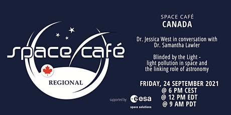 Space Café  Canada by Dr. Jessica West tickets