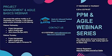 Primavera P6 EPPM Webinar entradas