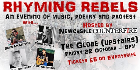 RHYMING REBELS - an evening of music, poetry & protest tickets