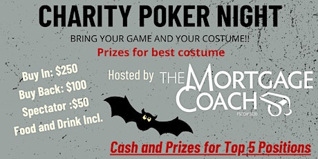 The Mortgage Coach Charity Poker Night tickets