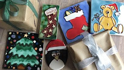 Christmas Tile Decorating Workshops tickets