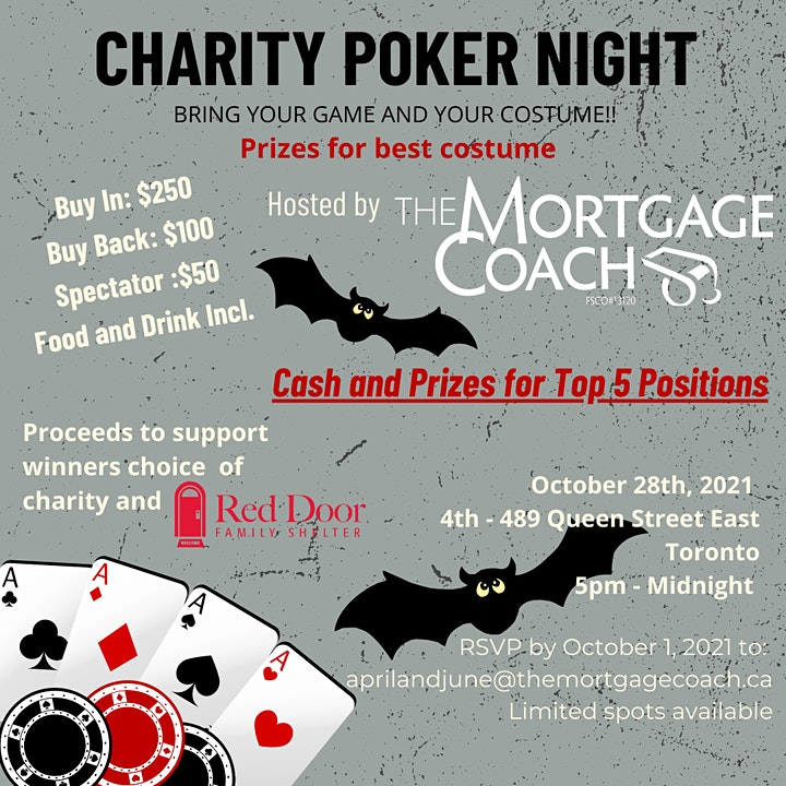 The Mortgage Coach Charity Poker Night image