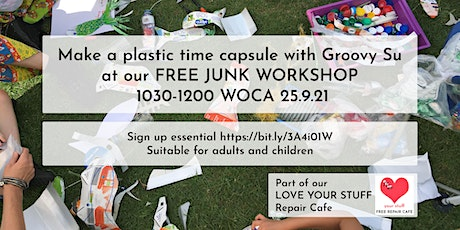 Free Junk Workshop with Groovy Su tickets