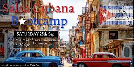 Salsa Cubana INTERMEDIATE bootcamp outdoors in UTRECHT tickets