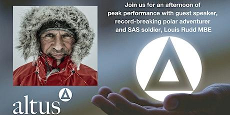 Discovering a winning mindset with polar adventurer, Louis Rudd MBE tickets