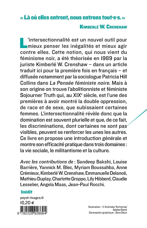 Book launch - Qu'est-ce que l'Intersectionnalité ? image