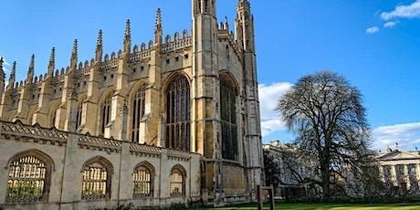 HISTORIC CAMBRIDGE WALKING TOUR tickets