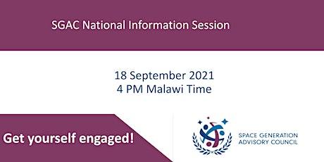 SGAC Malawi Information Session tickets