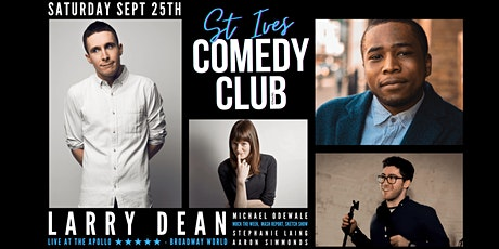 St Ives Comedy Club with Headliner Larry Dean tickets