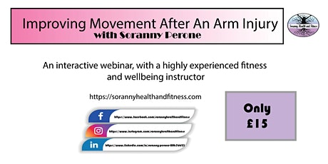 Strengthening Techniques To Aid Recovery To Arm Injuries tickets