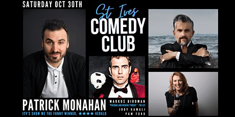 St Ives Comedy Club with Special Guest Headliner tickets