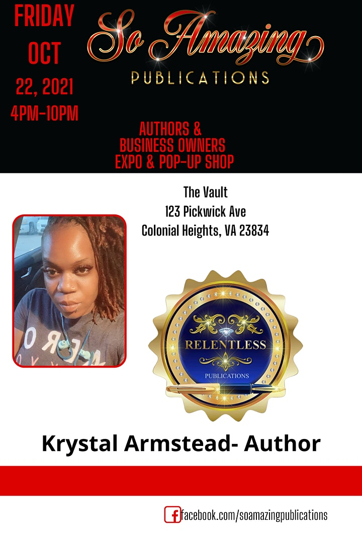 VSU Homecoming 2021 Author Expo & Business Owner Expo & Pop-Up Shop image