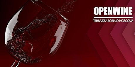 OPENWINE / TEMPORARY ROOFTOP  MOSCOVA biglietti