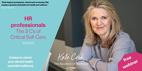 Unlock Your Vibrant Health Potential 3 steps to wellbeing for HR Profession tickets