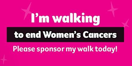 Walk for Women's Cancers - WONDER WOMEN TEAM - 19th Sept (Sunday) 9am -12pm tickets