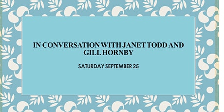 In Conversation with Janet Todd and Gill Hornby tickets