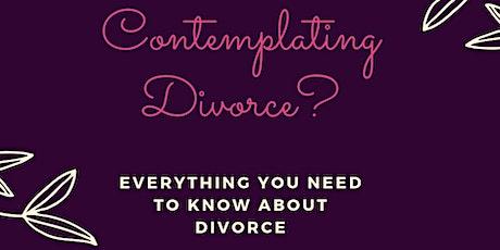 Second Saturday Divorce Workshop- October- Virtual option tickets
