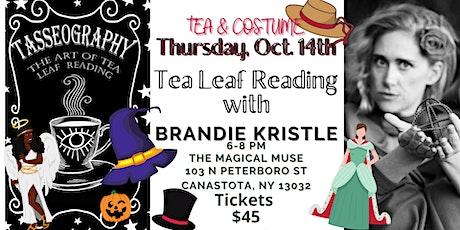 Costume Tasseography (Tea Leaf) event tickets
