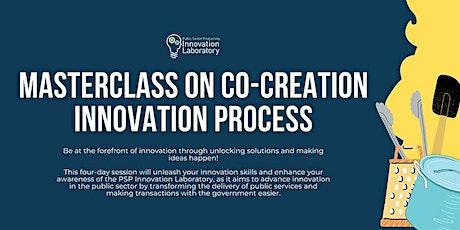 Masterclass on Co-Creation Innovation Process tickets