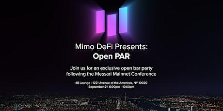 Open $PAR - Messari Mainnet After Party tickets