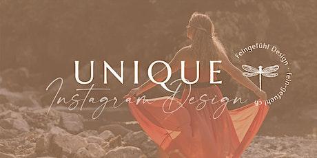 Unique Instagram Design⇒Der Online-Intensiv Workshop für deine Sichtbarkeit Tickets