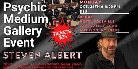 Steve Albert: Psychic Gallery Event - Hotel Solsville tickets