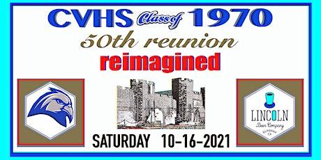 Crescenta Valley High School Class of 1970 ~ 50th Reunion tickets