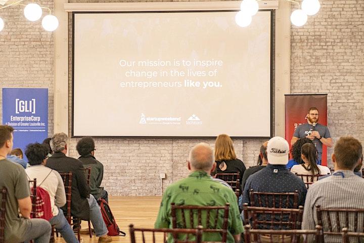 Startup Weekend Louisville - Idea to Business in 1 Weekend image