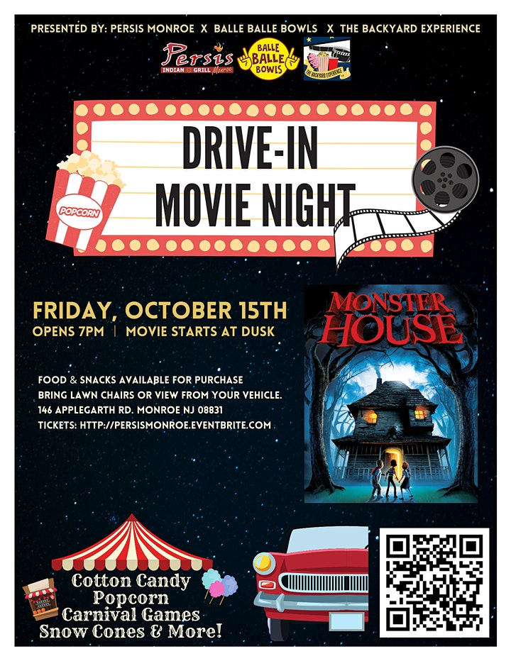 Drive In Movie Night ft. Monster House image