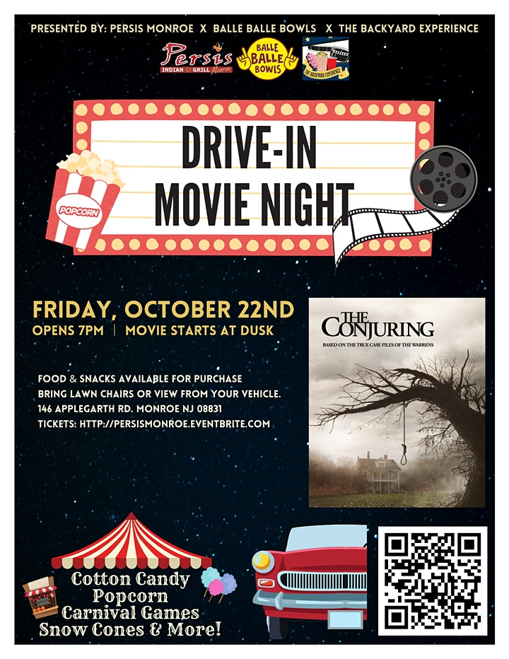 Drive In Movie Night ft. The Conjuring image