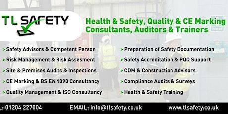 Risk Assessment Workshop at Bolton Arena. tickets