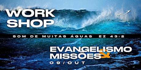 Workshop de Evangelismo e Missões - MCI SP ingressos