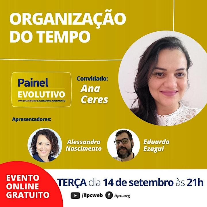 Imagem do evento Painel Evolutivo - Organização do Tempo