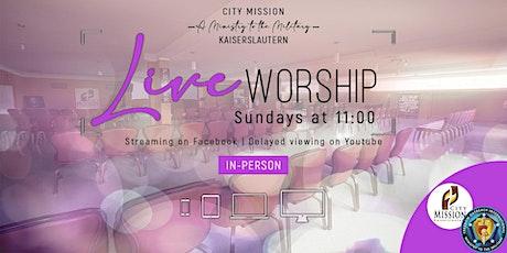 Sunday Worship Experience (26 September, 2021) tickets