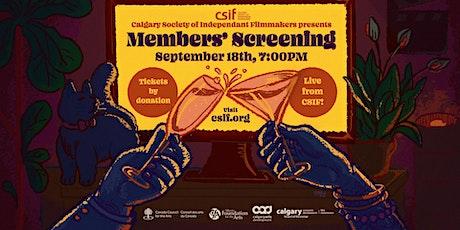 CSIF Fall 2021 Members' Screening & Director's Talk tickets