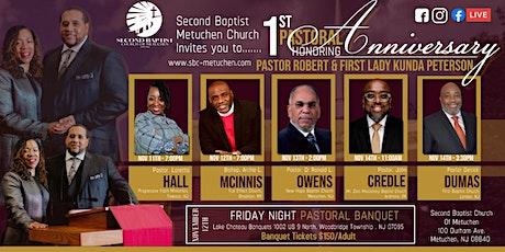 SBC Metuchen's Pastoral Banquet tickets