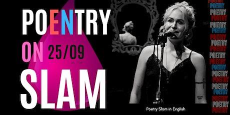 Poetry Slam in English in Barcelona entradas